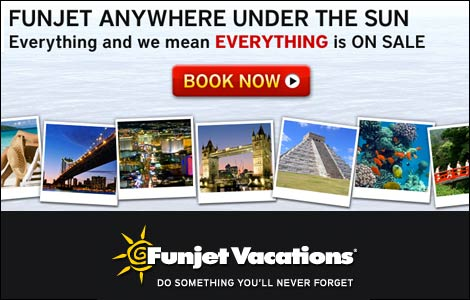 Funjet vacations from Travel Guy