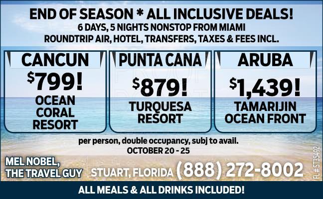 All Inclusive Resorts!