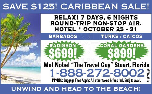 Caribbean Sale!