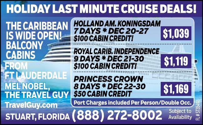 Cruises!