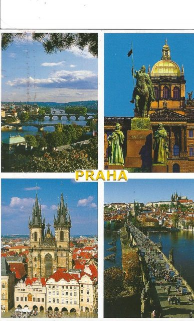 Postcard from Prague!